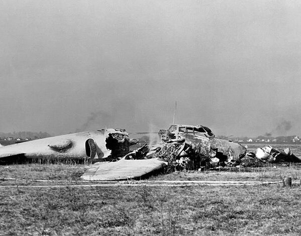 Boeing Model 299 crash