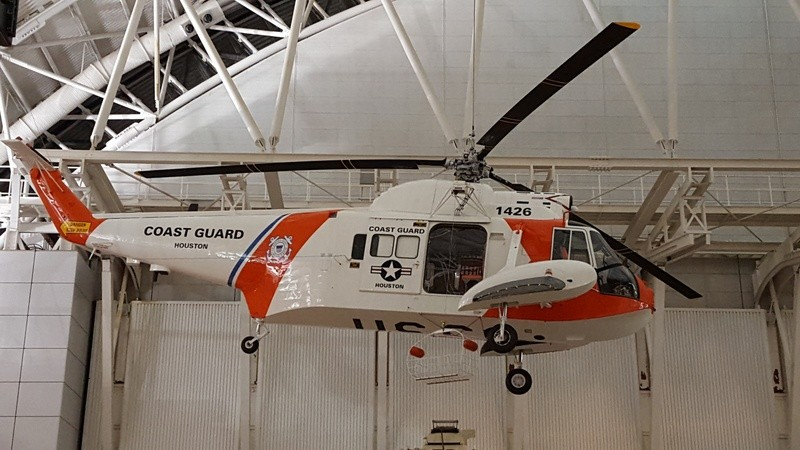 1426 Coast Guard Helicopter at Air & Space Museum