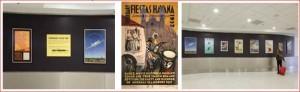MIA travel posters montage