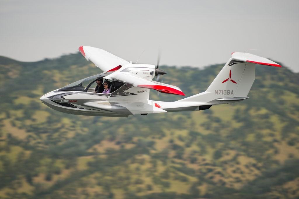 A5 in flight