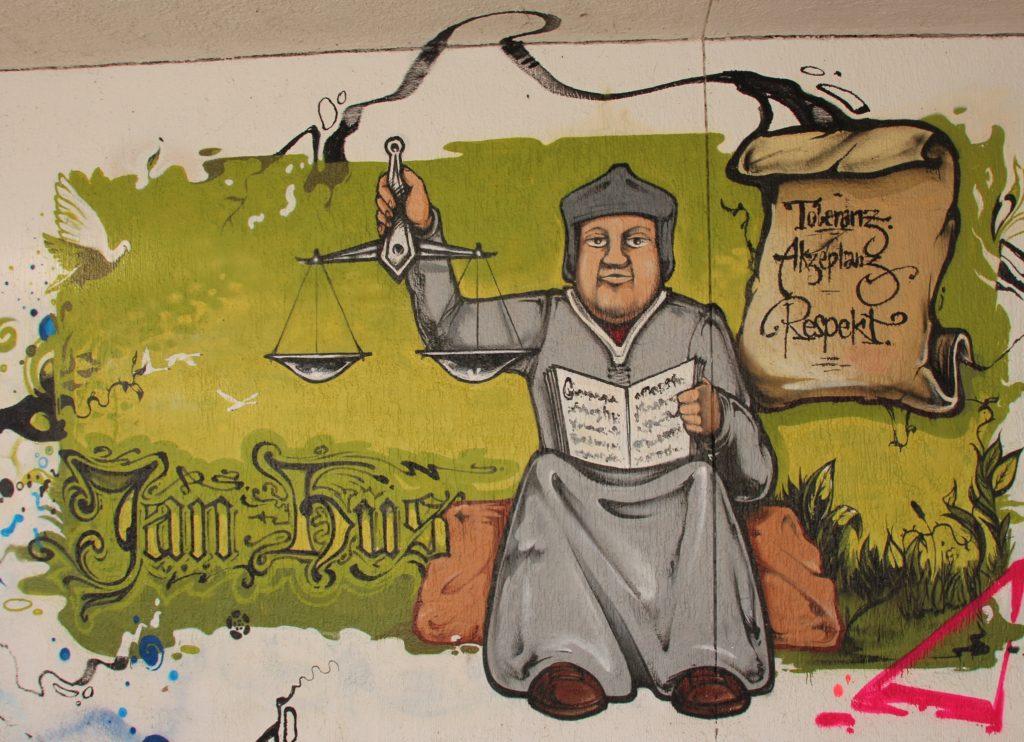 Jan Hus Graffiti_eminhasirci