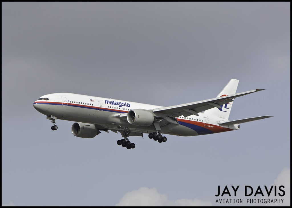 Malaysia 370 airplane 9M-MRO