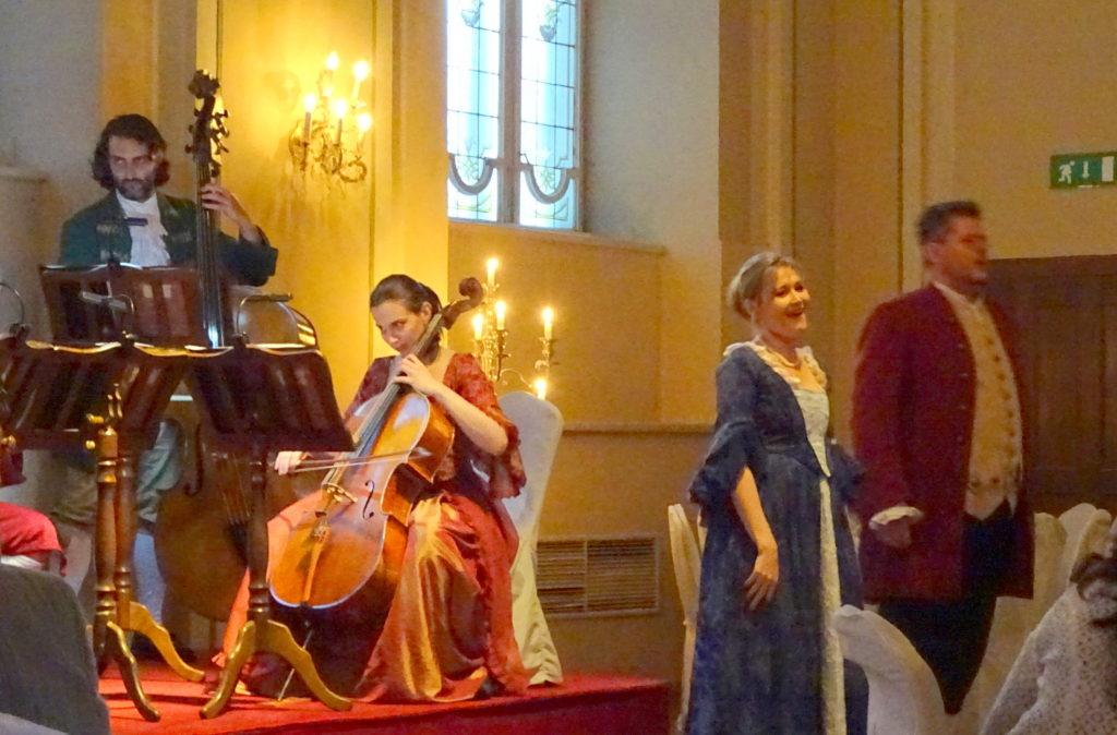 Mozart Dinner Concert in Salzburg
