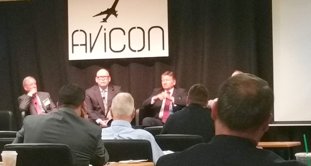 Brian Alexander, Steve Hull and Charlie Curreri at the Avicon 2016