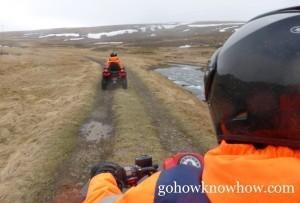 Seeing the countryside via ATV