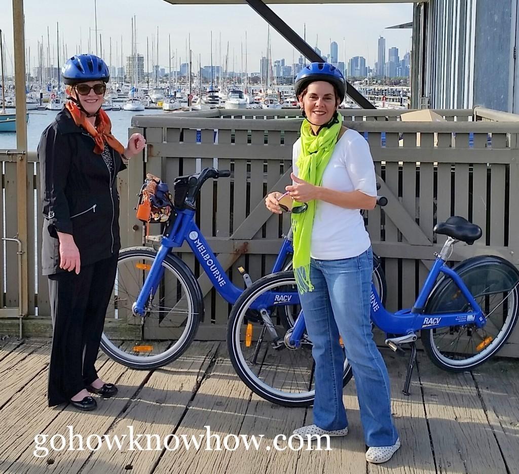 Biking in Melbourne