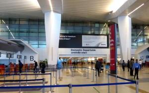 Terminal at Indira Gandhi Airport
