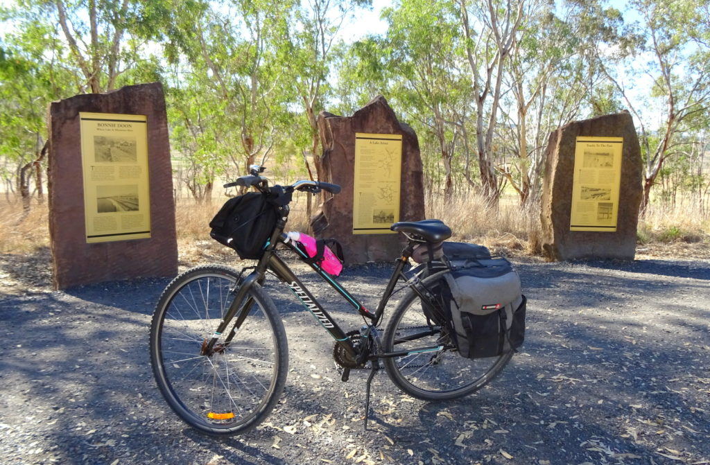 My transport for three days on the Great Victorian Rail Trail