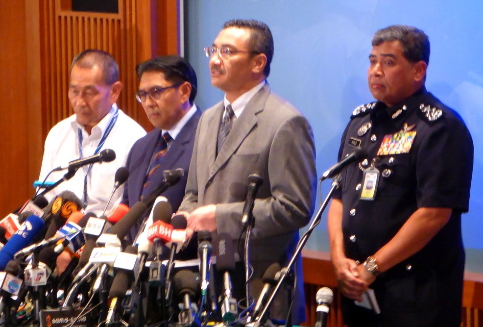 Malaysia 370 news conference March 19