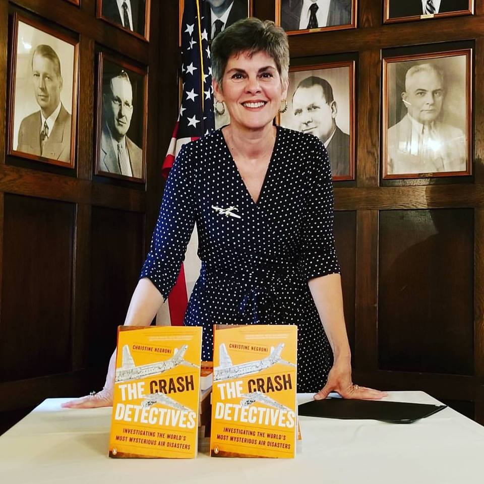 Christine Negroni at Engineers club of Dayton book talk